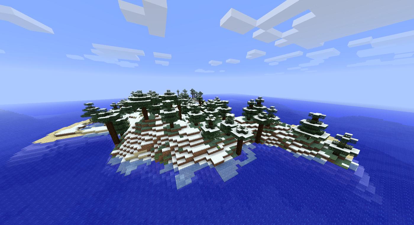 Seed Island Ocean Minecraft