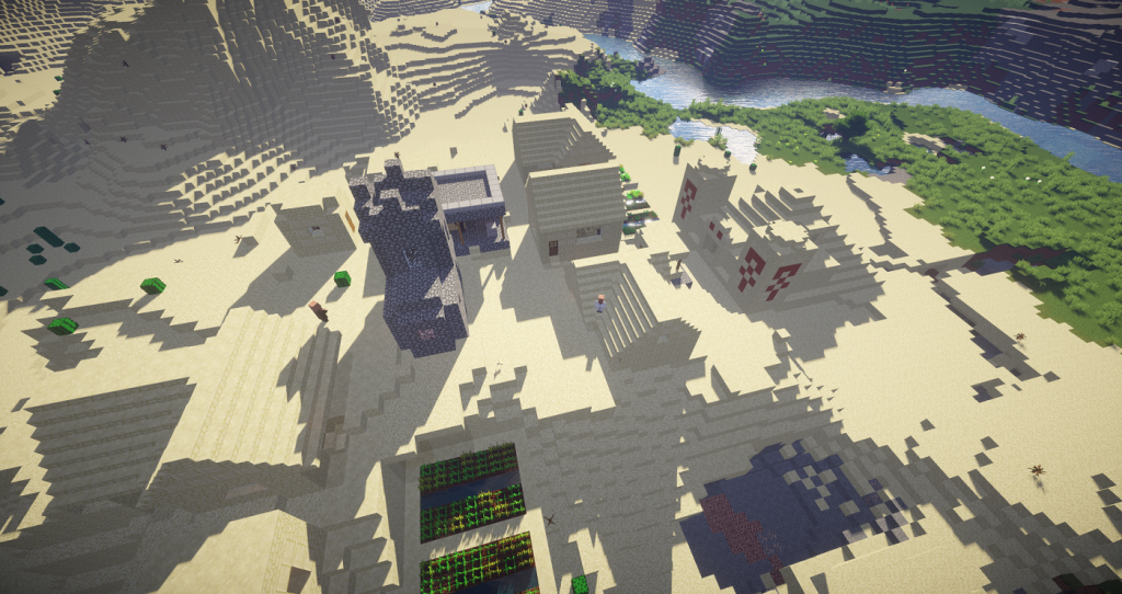 The Desert Temple Village