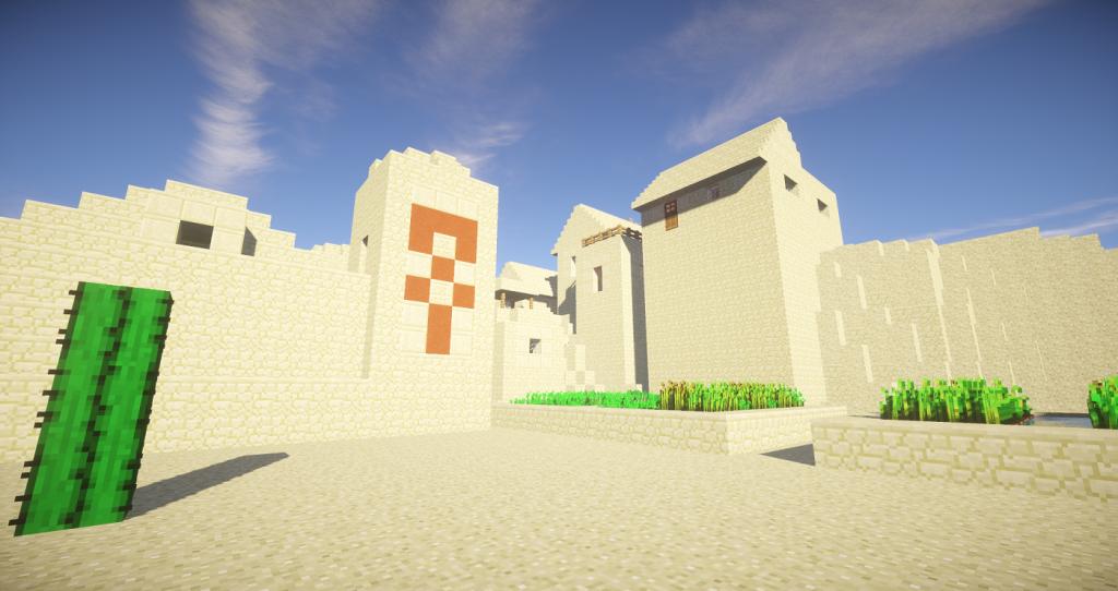 The Desert Temple Village 2