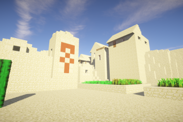 The Desert Temple Village 2
